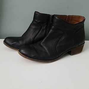 LUCKY BRAND Leather ankle boots